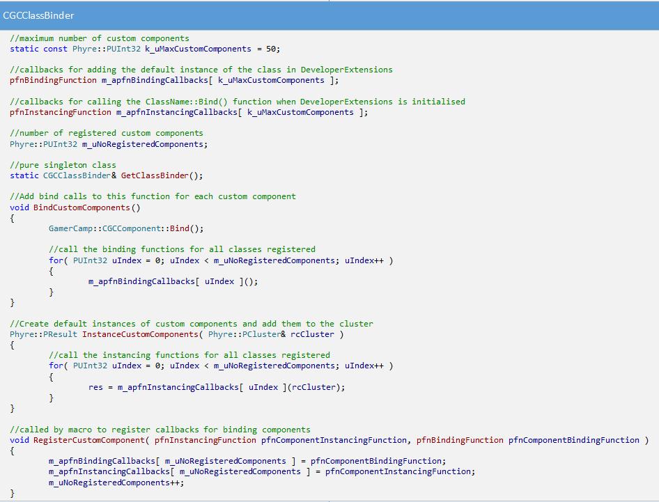 FrameworkDiagramClassBinder